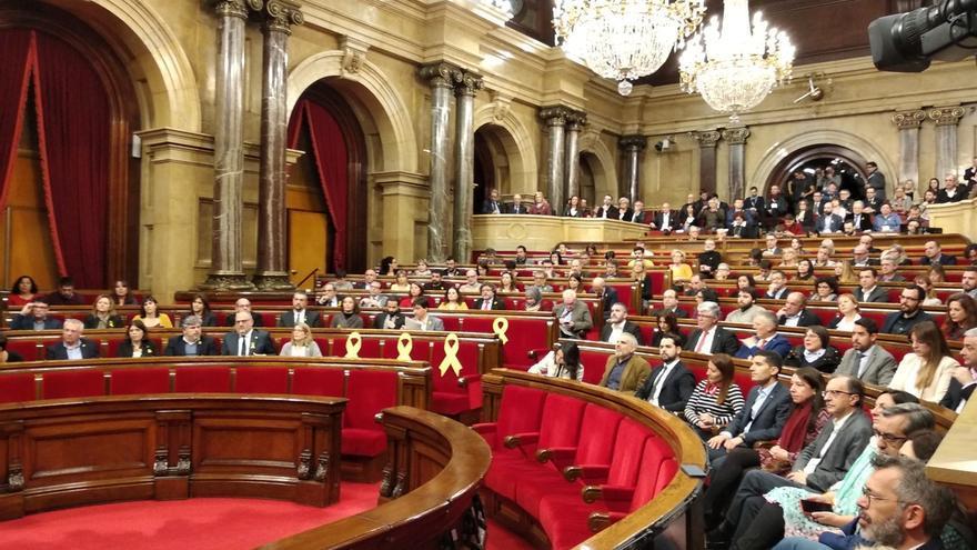 El Parlament catalán reivindica este miércoles que Puigdemont, Sànchez y Turull puedan ser investidos