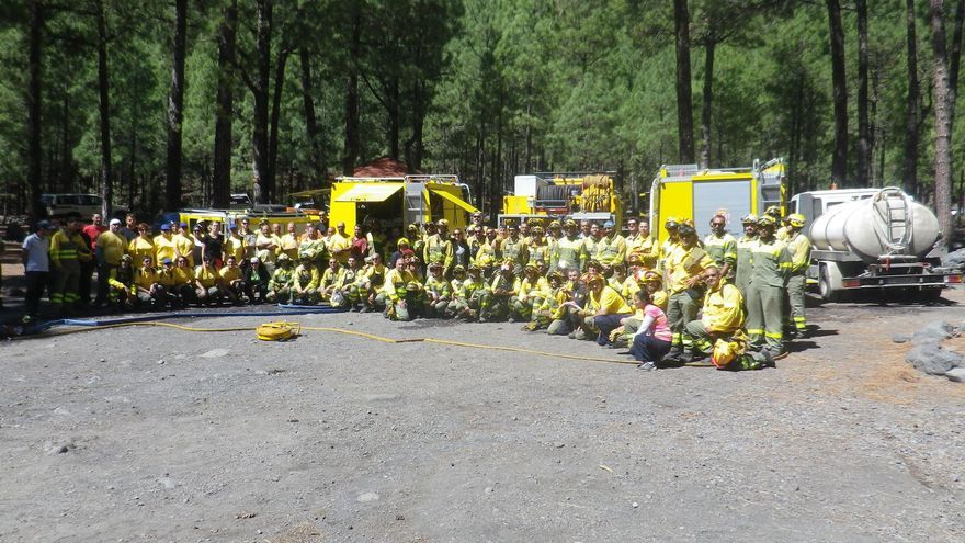 La actividad formativa contó con más de 120 asistentes  (en la imagen). Foto: Parque Nacional de La Caldera de Taburiente.