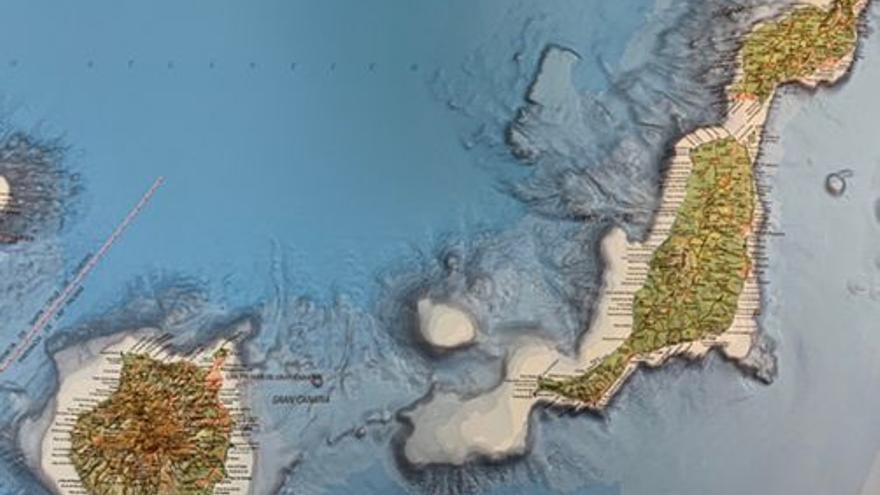"""El Instituto Geográfico Nacional publica un nuevo mapa de Canarias con """"detalle sin precedentes"""""""