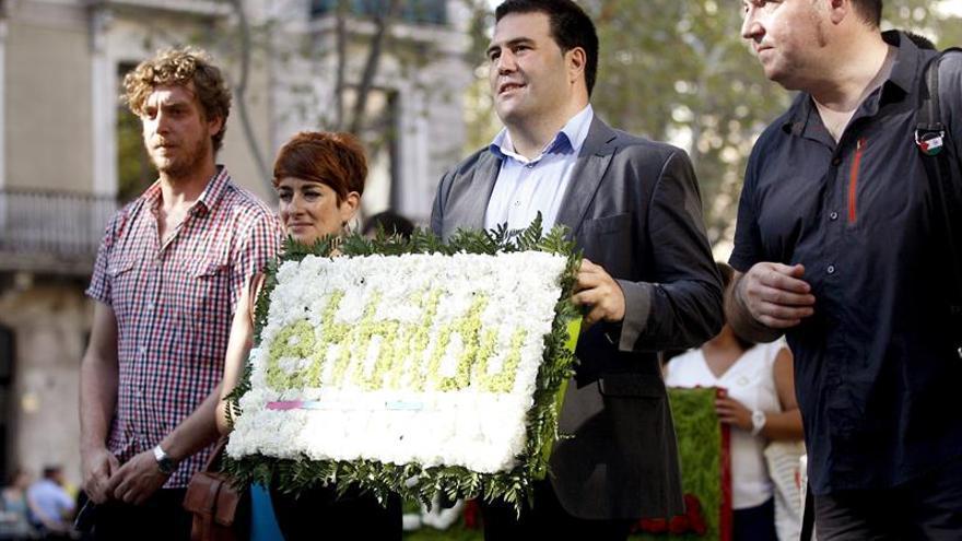 """EH Bildu confía que sea la última Diada catalana de """"supeditación al Estado"""""""