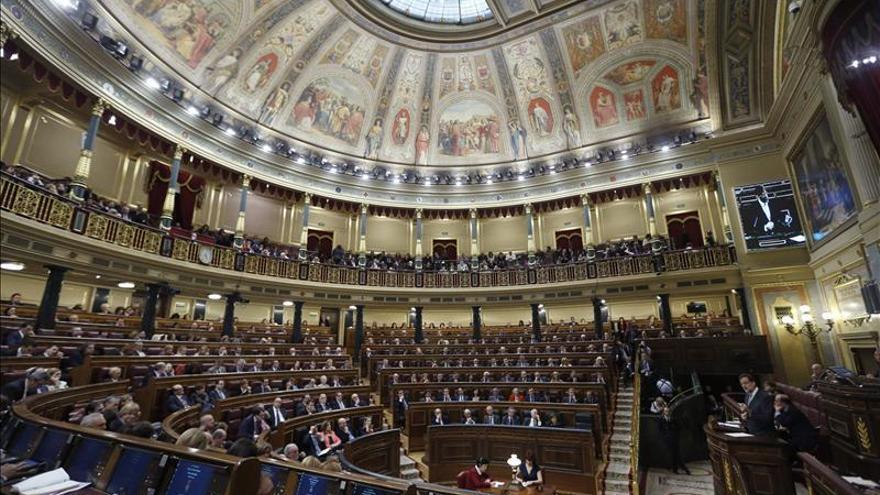 El Congreso gastó en 2012 un 11,44 por ciento menos de lo presupuestado
