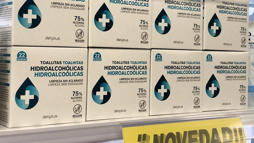 Mercadona incorpora en sus lineales toallitas hidroalcohólicas
