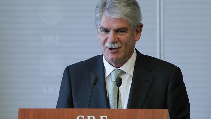 """""""Todos estamos con el Reino Unido"""", dice el ministro de Exteriores español"""