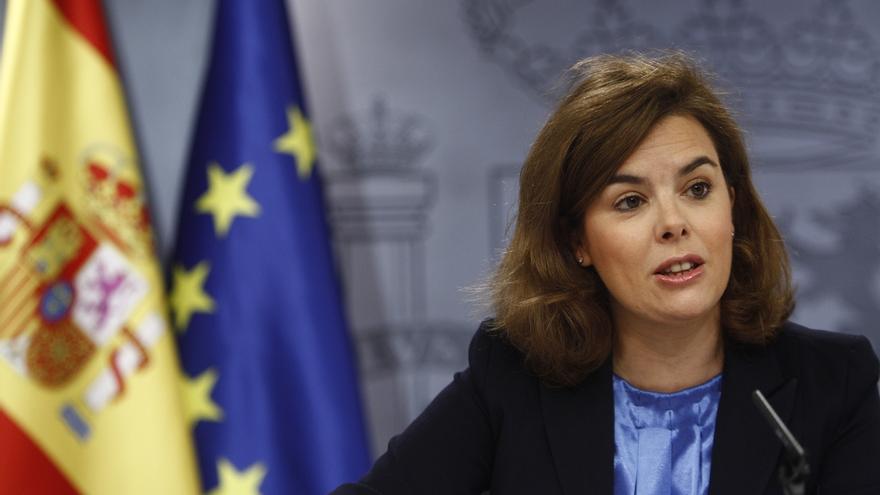 """Santamaría: """"Menos mal que el Gobierno de España ha suplido muchas carencias de la Generalitat"""""""