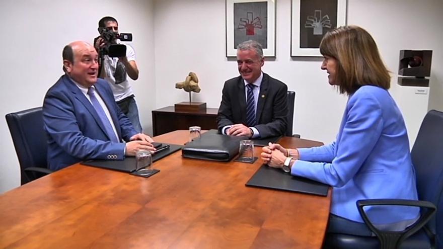 """PNV y PSE-EE apuestan a las claras por """"continuar"""" con el Gobierno de coalición en esta legislatura"""