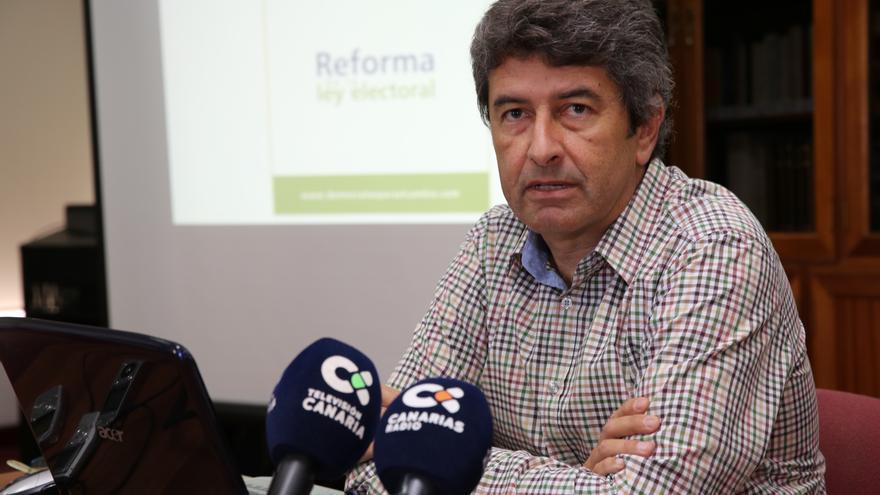 Vicente Mujica, portavoz de la Plataforma Demócratas para el Cambio