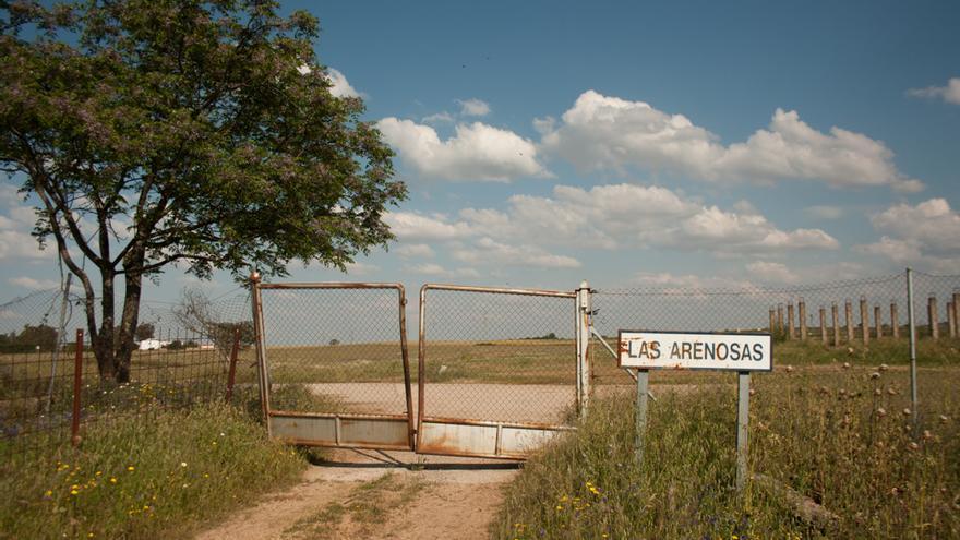 Entrada a la finca municipal Las Arenosas