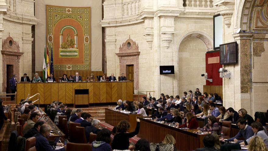 Parlamento de Andalucía.