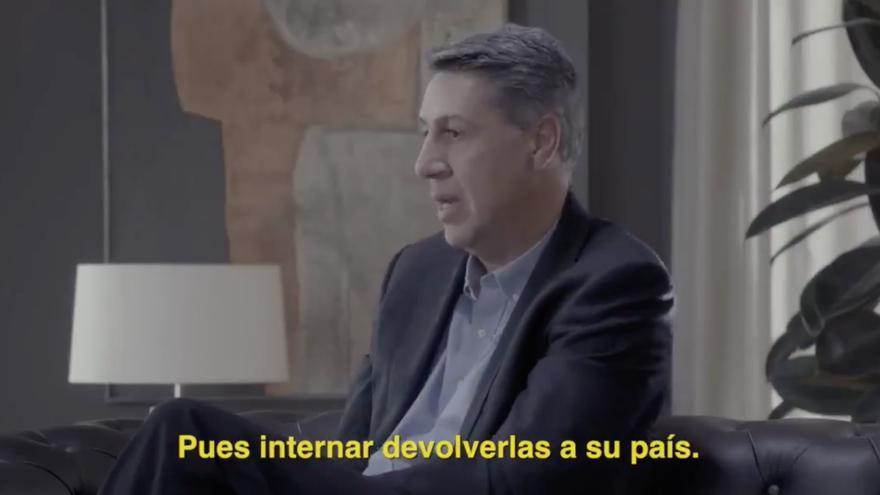 Xavier García Albiol, durante el programa de 'Salvados' de este domingo