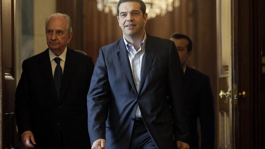 El líder de Syriza, Alexis Tsipras. / Efe