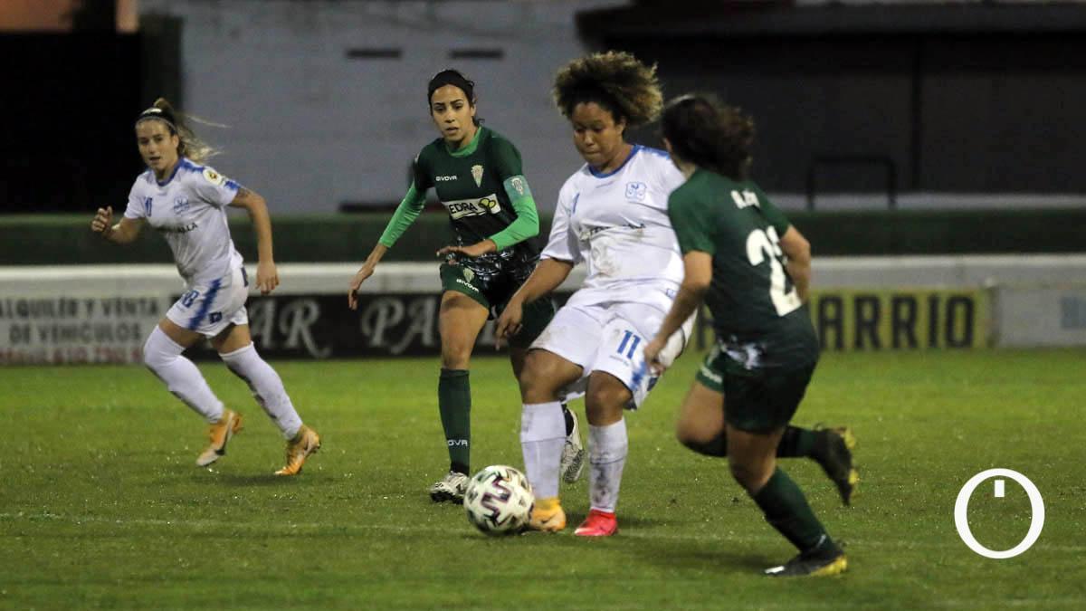 Karla Rilley, en un duelo entre Pozoalbense y Córdoba