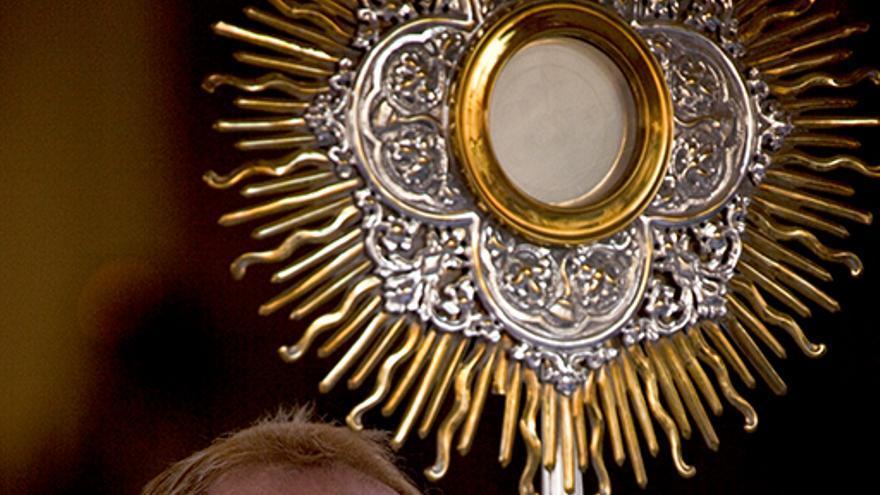 El párroco en l'Alfàs del Pi Miguel Ángel Shiller