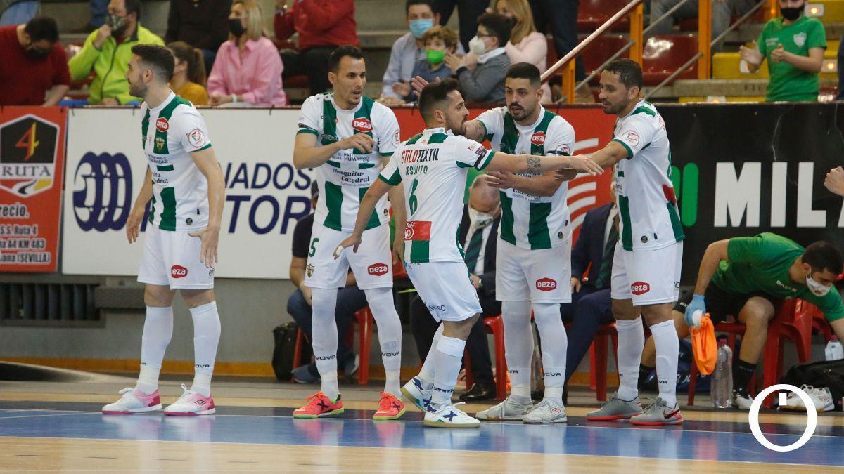 Jugadores del Córdoba Patrimonio en un partido.
