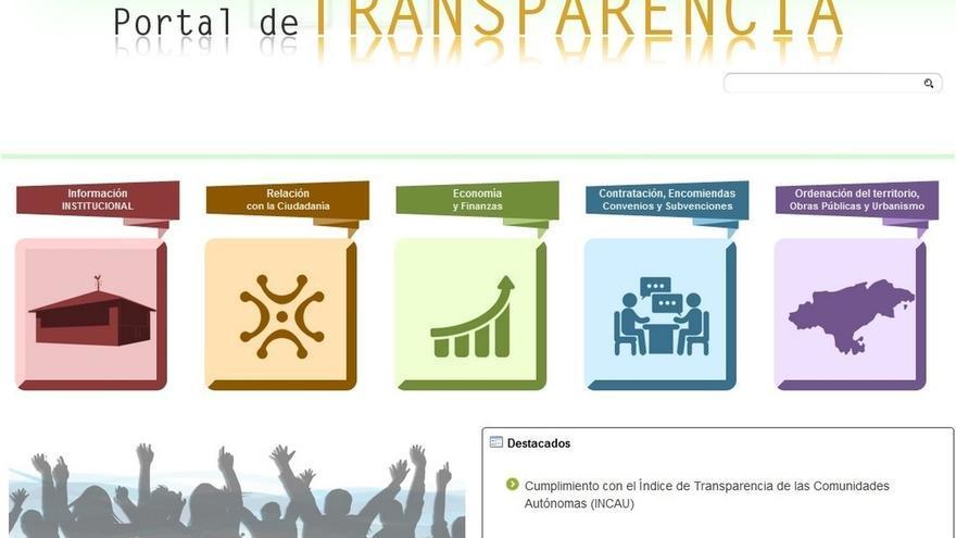 """Cantabria sube más de siete puntos y obtiene un """"sobresaliente"""" en transparencia"""