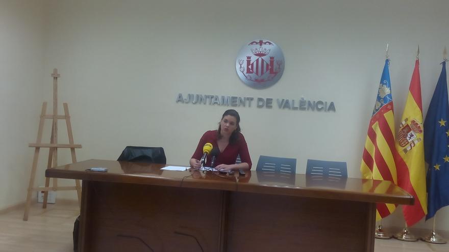 La concejal de Protección Ciudadana, Sandra Gómez