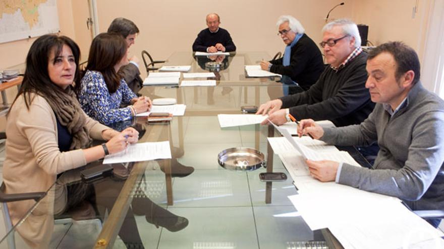 Reunión del consejo de administración de la Gerencia de Urbanismo FOTO: MADERO CUBERO