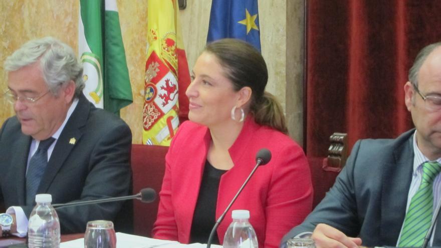 """Crespo destaca su """"satisfacción"""" tras el dictamen de Bruselas que avala el control en la verja"""