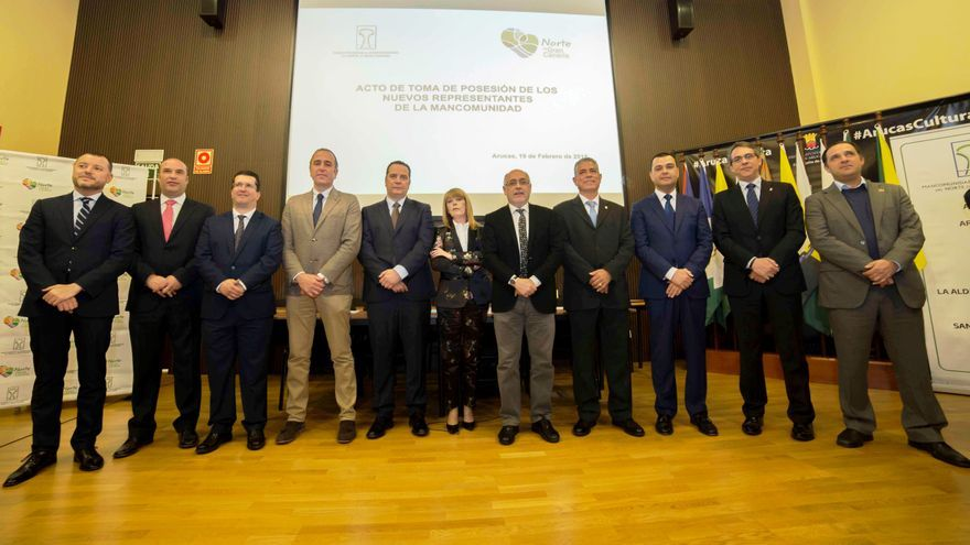 Firgas asume la presidencia de la Mancomunidad del Norte de Gran Canaria