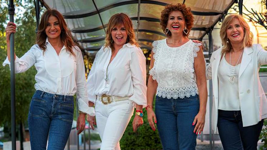 Mariló Montero, Belinda Washington, Irma Soriano y Nieves Herrero