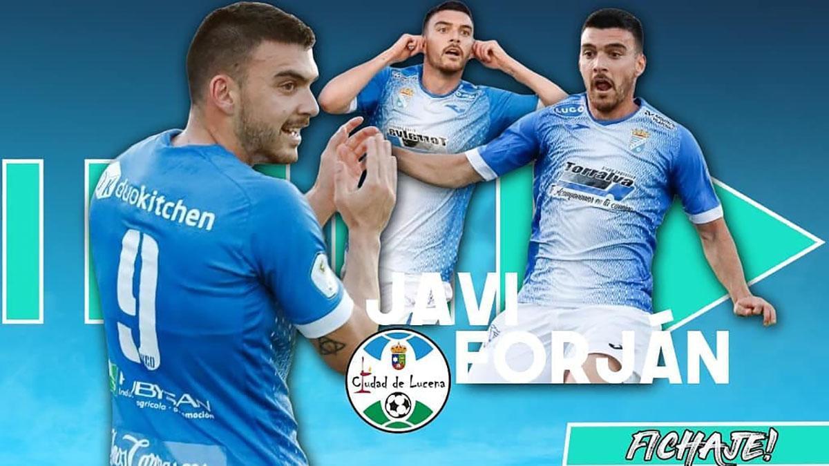 Javi Forján, nuevo jugador del Ciudad de Lucena