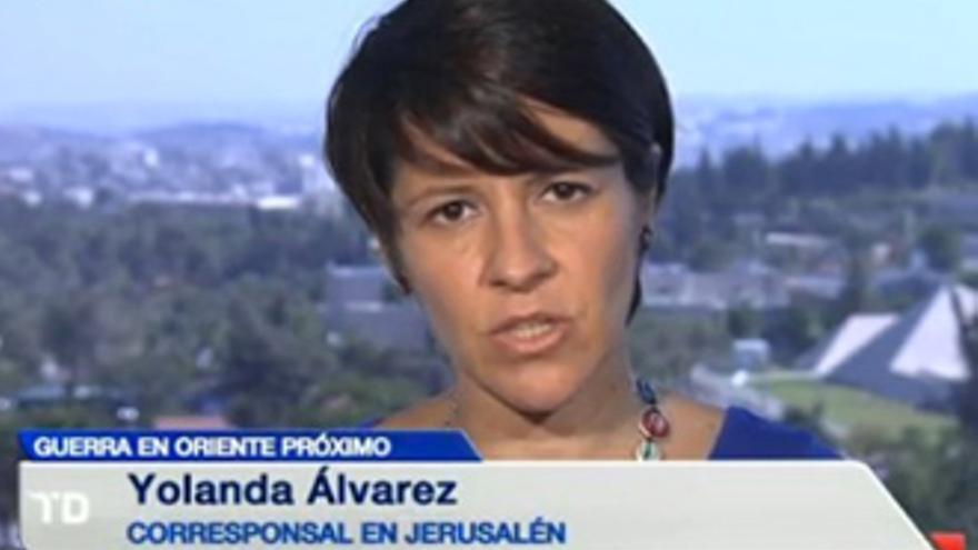 Yolanda Álvarez insinúa una 'mano negra' en su cese como corresponsal de TVE