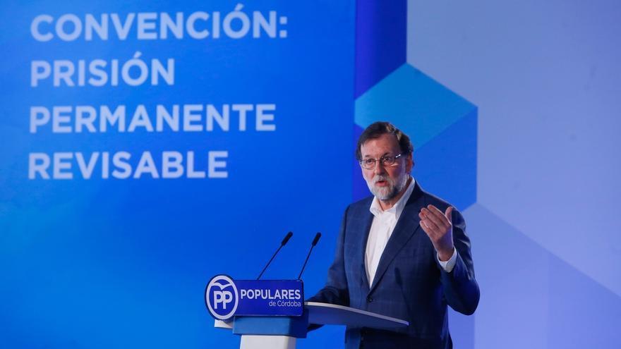"""Rajoy dice a quienes buscan derogar la prisión permanente revisable que """"el dolor"""" de las víctimas """"no es revisable"""""""