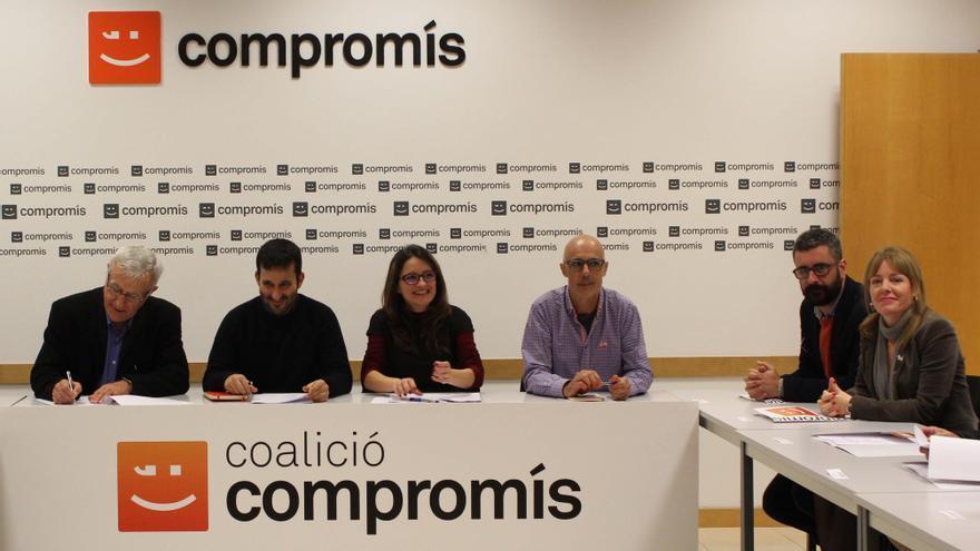 Ribó, Marzà, Oltra y Álvaro presiden la Comissió de Coordinació Institucional de Compromís