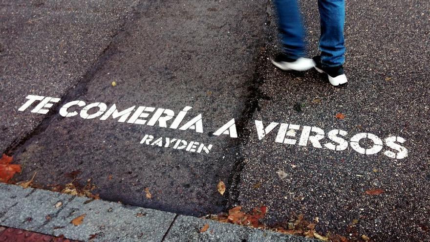 Verso del cantante Rayden, en San Bernardo con Santa Cruz de Marcenado | SOMOS MALASAÑA