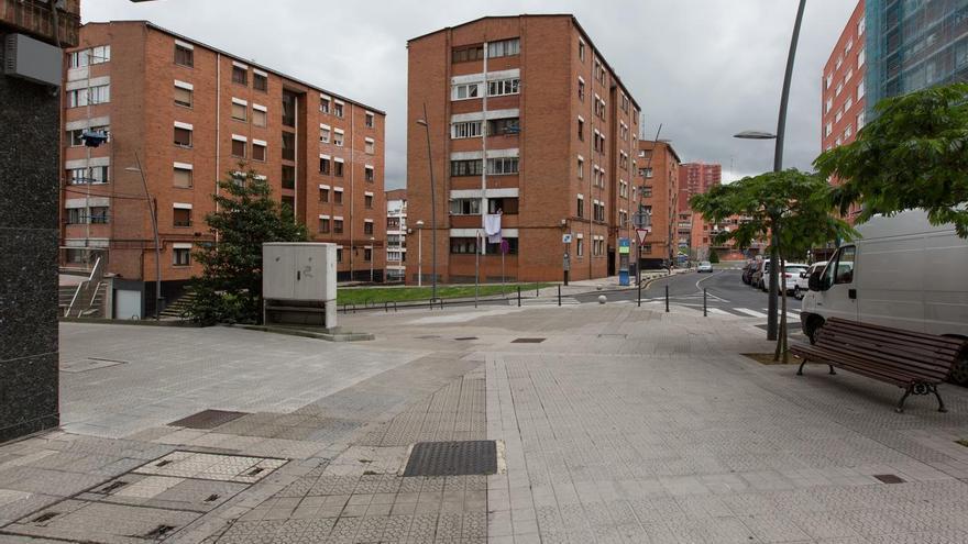 Una calle de Barakaldo