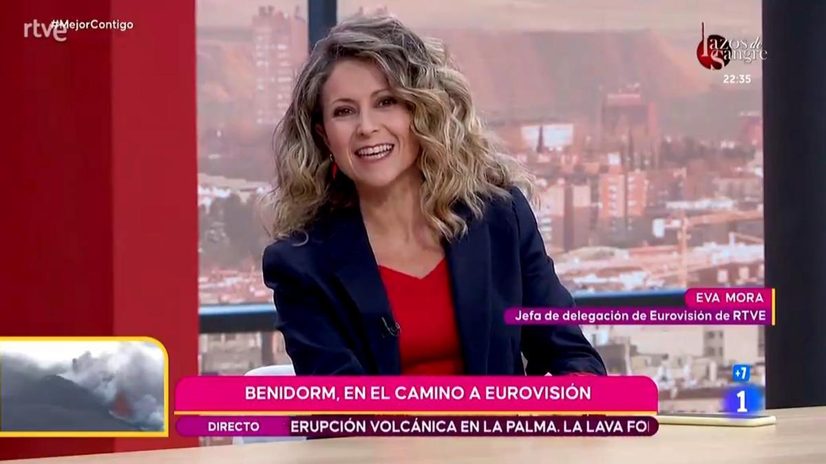 Eva Mora en 'Mejor contigo'