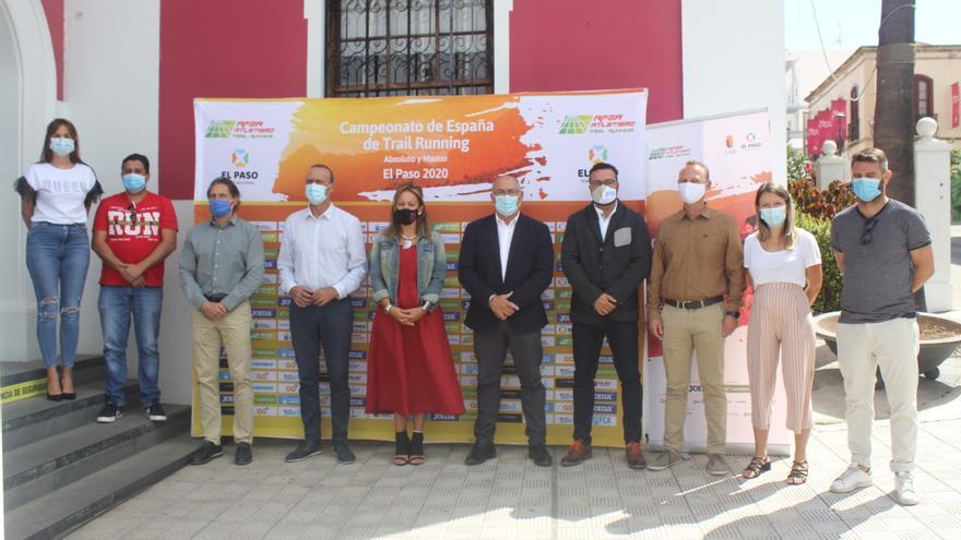 El sexto Campeonato de España de Trail Running  de El Paso pone su cuentakilómetros a cero