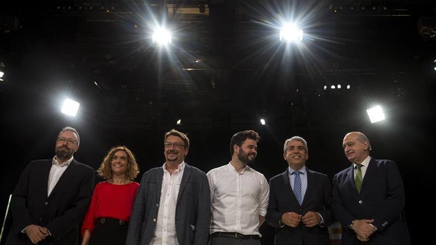 Los canditatos por Cataluña a las Elecciones Generales