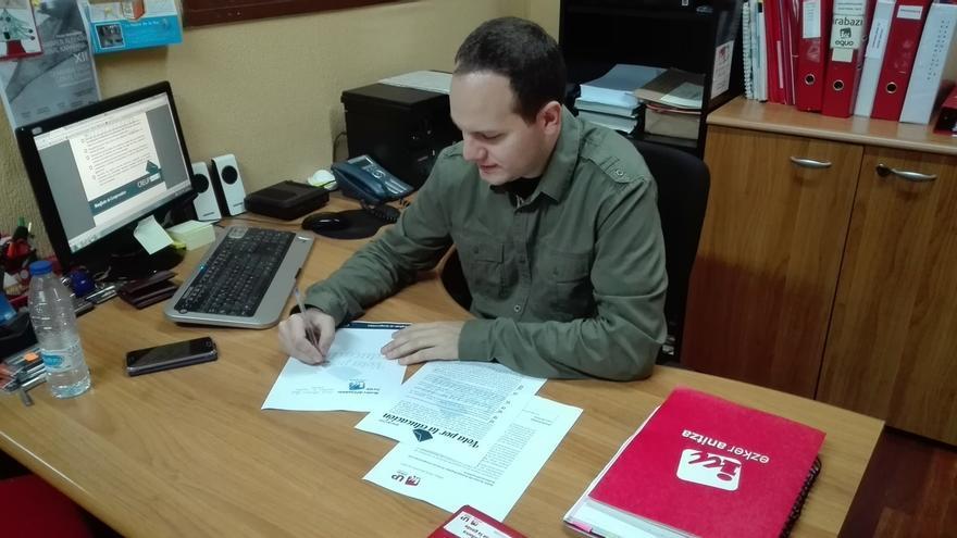 """Ezker Anitza-IU Unidad Popular firma su compromiso con """"una Universidad pública de calidad para todos"""""""