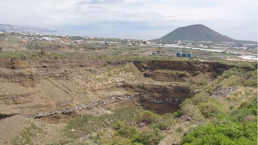 Barranco en el municipio de Güímar / Foto cedida