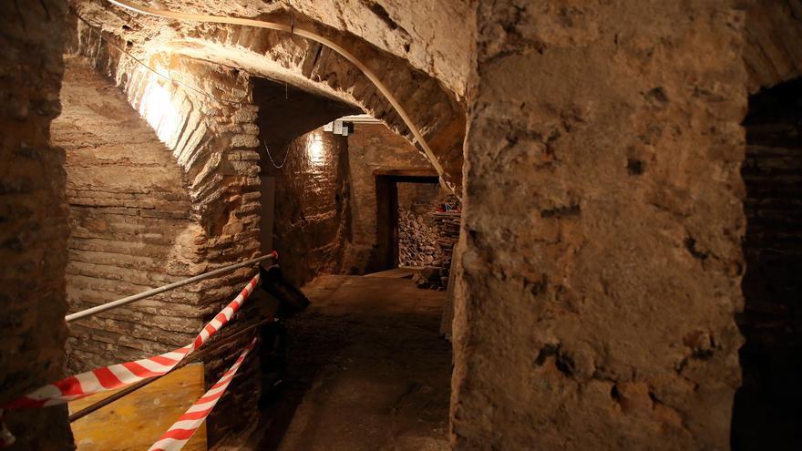 Parte de los restos que se han descubierto en Toledo