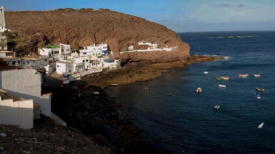 Barrio pesquero de Tufia, en la costa este de Gran Canaria.