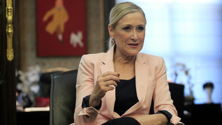 Cristina Cifuentes, candidata del PP a la Comunidad de Madrid / Marta Jara