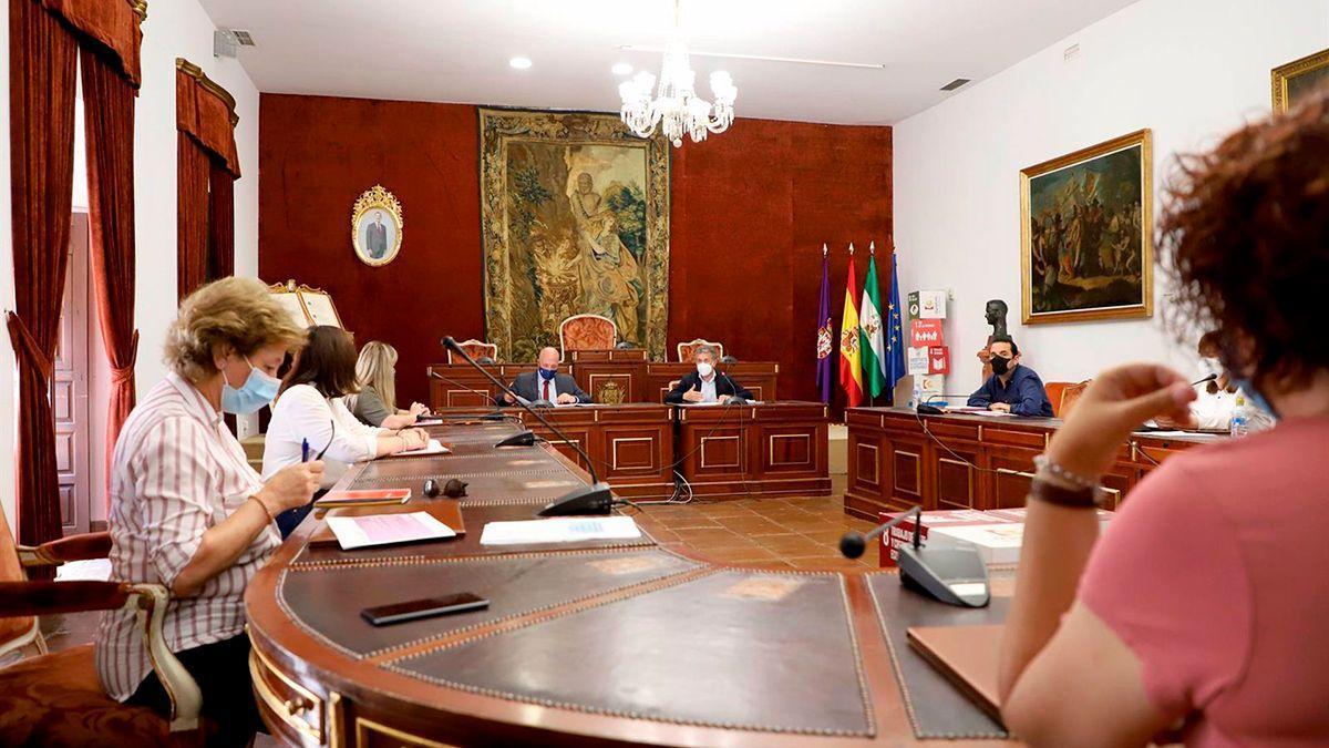 Reunión en la Diputación con los ayuntamientos implicados.
