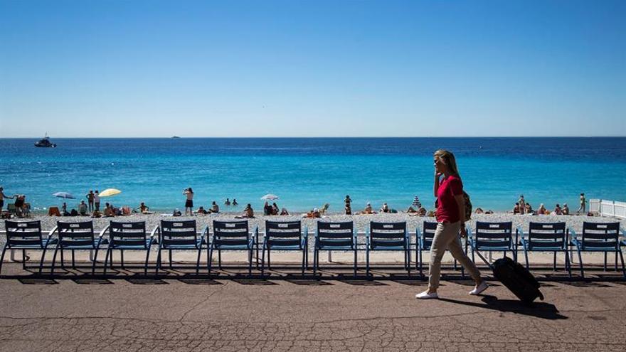 Reabre el paseo de los Ingleses de Niza, escenario del atentado