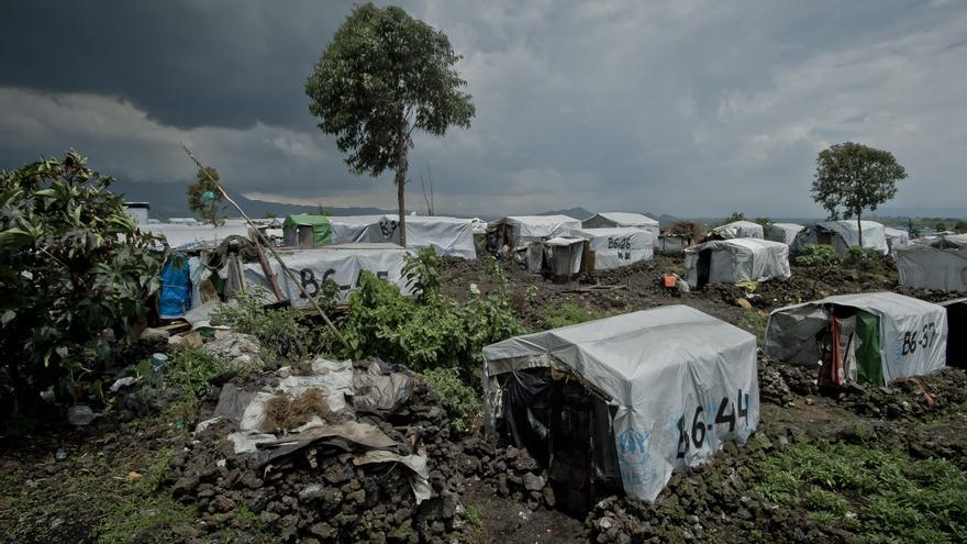 Campo de refugiados de Mugunga III, Congo. Foto: ACNUR/F.Noy