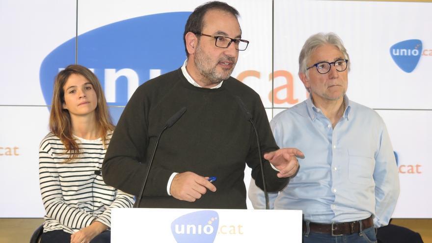 """Unió celebra este sábado un congreso para """"rearmarse"""" de cara a las elecciones catalanas"""