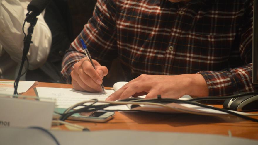 Firma del pacto por la sanidad pública de Toledo / Foto: Javier Robla