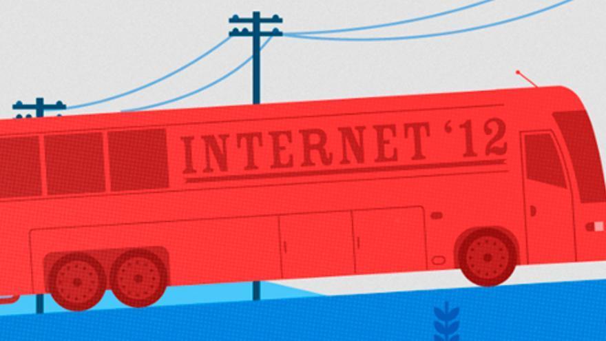 Ilustración del autobús de Reddit (Foto: The Silicon Prairie)