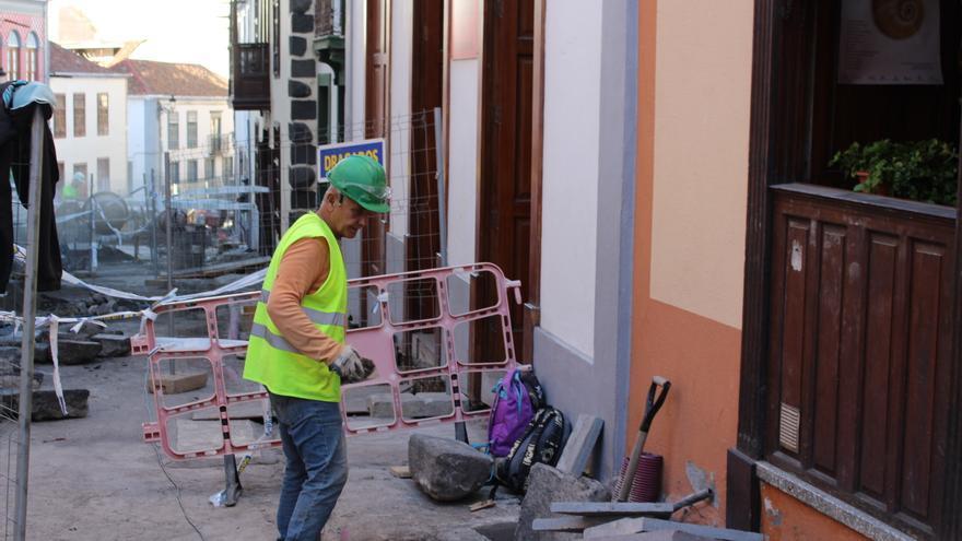 Obras en el entorno de La Alameda.