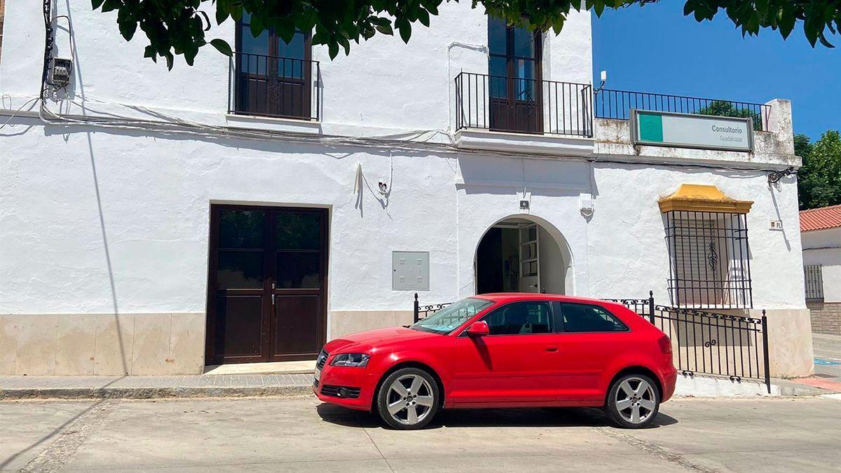 Centro de salud de Guadalcázar.