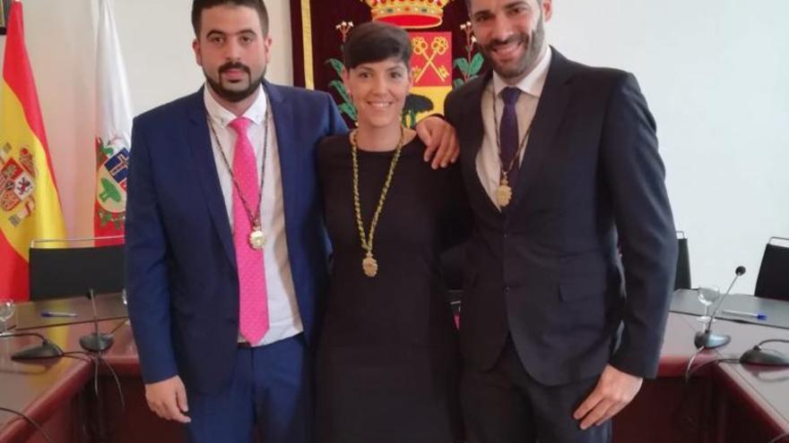 Concejales del PSOE de Breña Alta.
