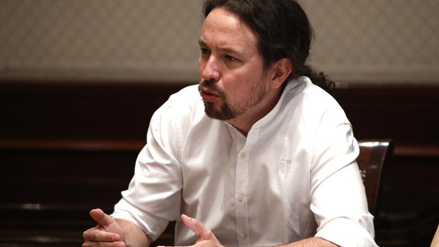 Iglesias avisa a Sánchez que va contra el espíritu de la Constitución cambiar el artículo 99 para facilitar investiduras