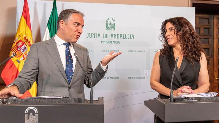 El Gobierno andaluz pide a Vox no enmendar el presupuesto para negociar