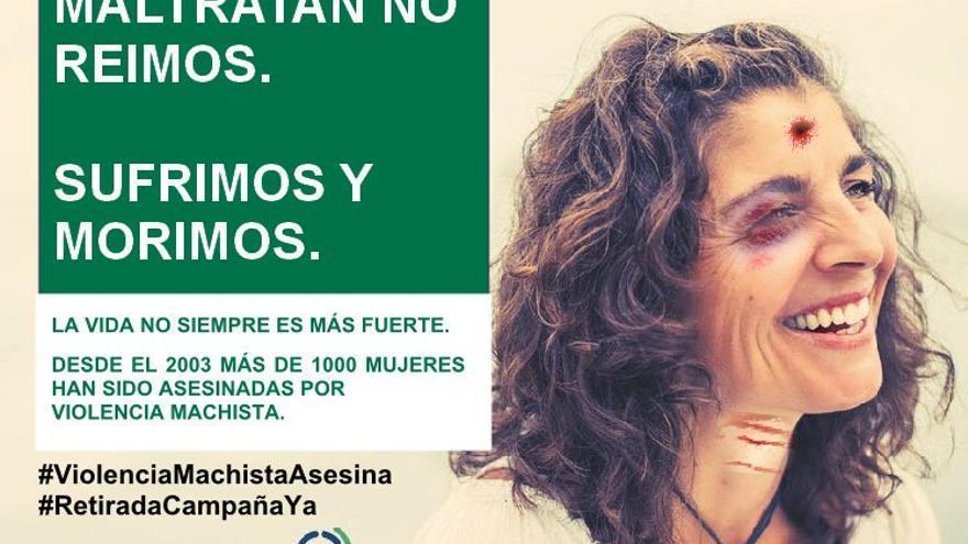 La Junta baraja denunciar la contracampaña difundida por personas vinculadas del PSOE con las imágenes trastocadas.