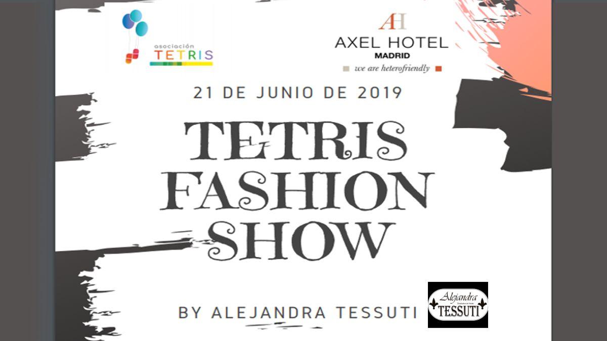 Cartel del Tetris Fashion Show | ASOCIACIÓN TETRIS